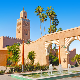 Koutoubia moskee in Marrakech, Marokko