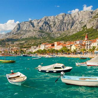 Kroatie_Bootjes-bij-Makarska