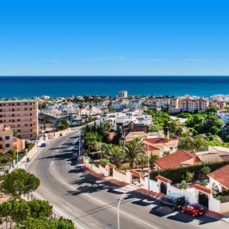 Kuststad Torrevieja in de provincie Alicante in Spanje