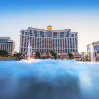 Fonteinshow in Las Vegas