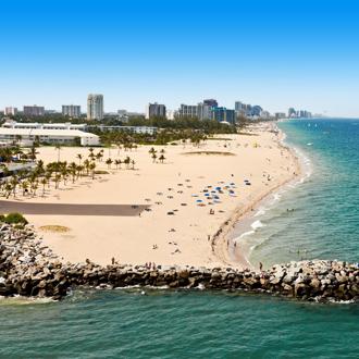 Lauderdale Beach in Florida