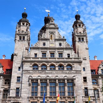 Leipzig New Town Hall Duitsland