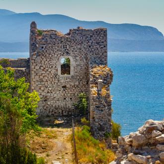 Lykourgos Logothetis kasteel in Pythagorion