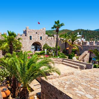 Het kasteel van Marmaris in Turkije