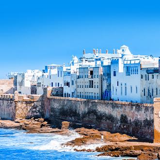 Marokko-Uitzicht-op-de-oude-stad-Essaouira