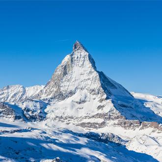 Matterhorn top in Zermatt