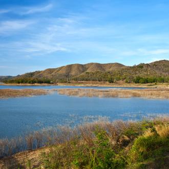 Natuurgebied van National Park, Petchaburi, Thailand