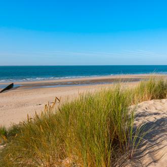 Zandduinen in Zeeland