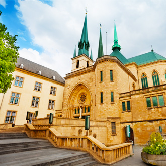 Notre Dame kathedraal in Luxemburg
