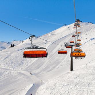 Skiliften in Saalbach-Hinterglemm
