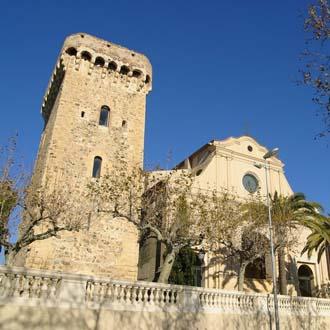 Oude kerk in Cambrils