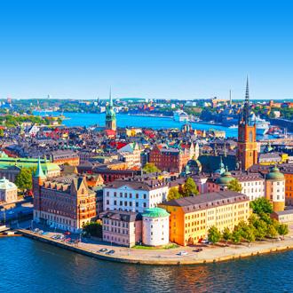 Oude stadshart van Stockholm
