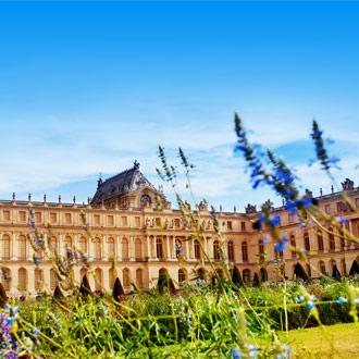 Het paleis van Versailles in Parijs, Frankrijk