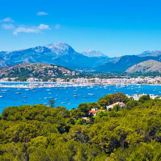Panorama Port of Pollenca
