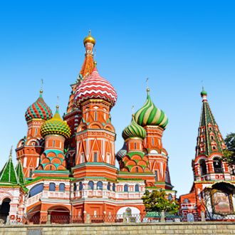 Pokrovkathedraal Rode Plein in Rusland