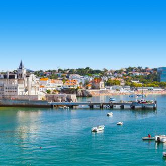 Kust cityscape in Estoril