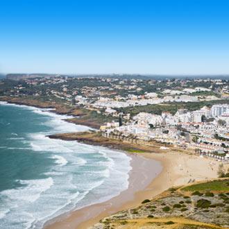 Strand in Praia Da Luz