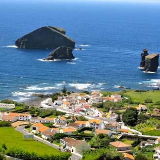Vissersdorp Mosteiros op Sao Miguel