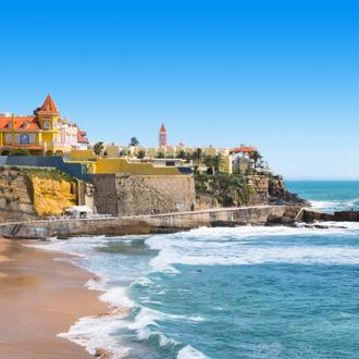De kust in Estoril