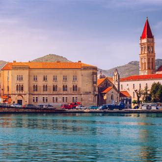 Prachtige foto van Trogir in Kroatie