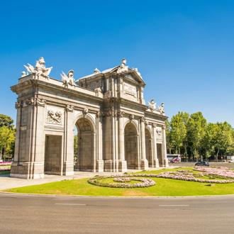 Puerto de Alcala in Madrid, Spanje
