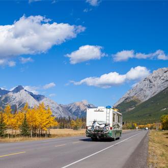 Met de camper op roadtrip in Alberta Canada