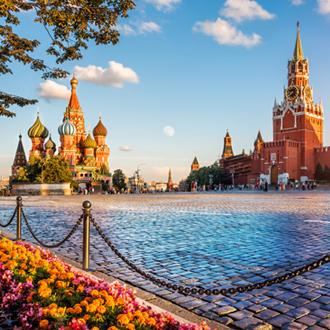 Rode plein van Moskou