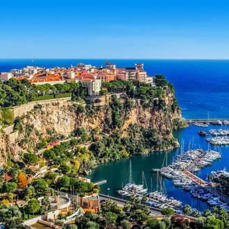 Rots bij Monaco en Monte Carlo in Frankrijk