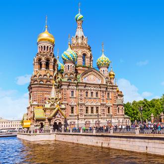 Kerk van de Verlosser op het Bloed in Sint-Petersburg