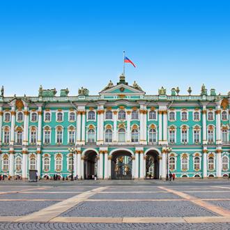 Kunst- en cultuurhistorische museum de Hermitage in Rusland