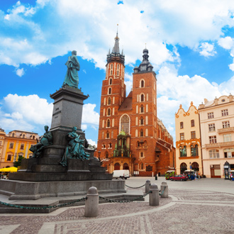 Saint Mary's Basilica in Krakau, Polen