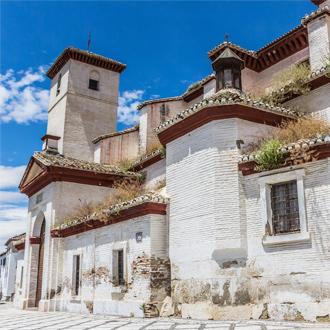 San Nicolas kerk in het oude gedeelte van Granada