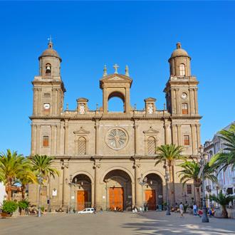 Santa Ana kathedraal in Las Palmas vlakbij San Agustin