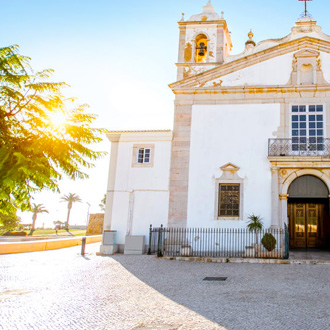 Santa Maria kerk in Lagos, Portugal