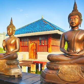 Seema Malaka tempel op Sri Lanka
