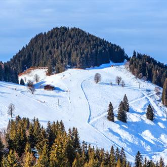 Skigebied met skiliften soll tirol oostenrijk