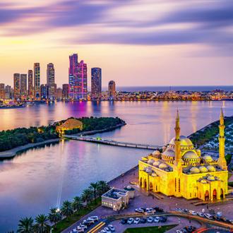 Moskee in Sharjah
