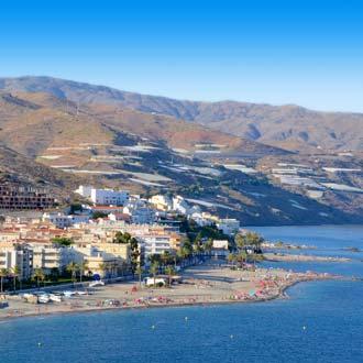 Uitzicht op Costa de Almeria