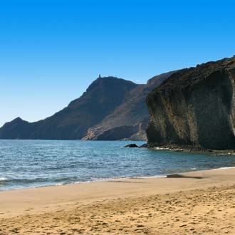 Monsulstrand in natuurreservaat Cabo de Gata
