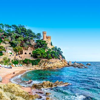 Sant Joan Castle in Lloret de Mar, Spanje