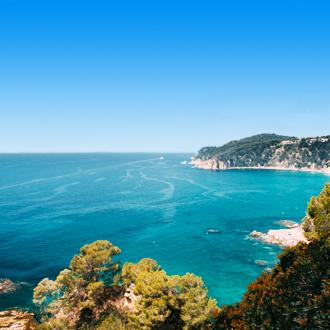 Badplaats Tossa de Mar in Spanje