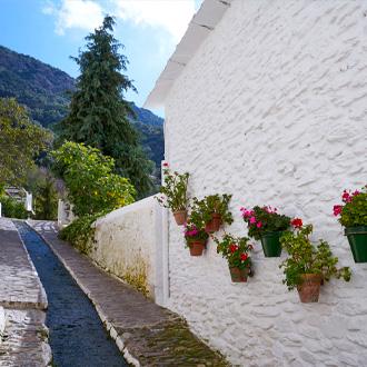 Wandelpad in Pampaneira in Granada