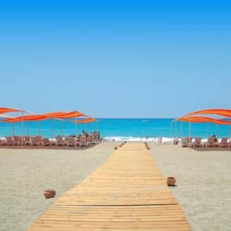 Strand in Alanya