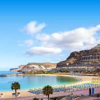 Strand zee en lucht Gran Canaria