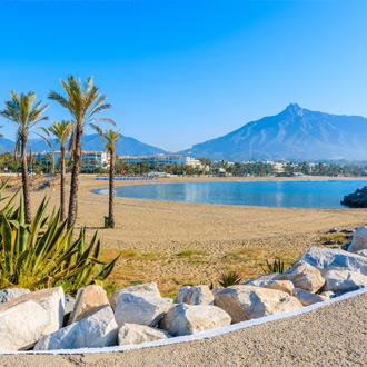 Strand Costa del Sol, Spanje