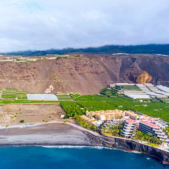 Puerto Naos vanuit de lucht