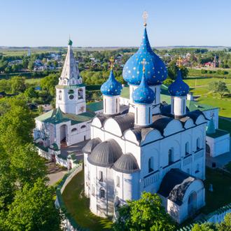 Paleis in Suzdal Gouden Driehoek van Moskou