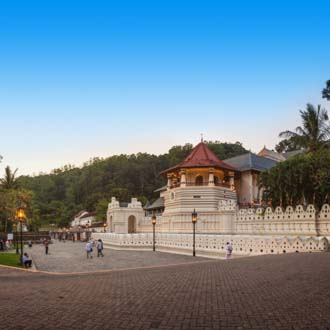 Tempel van de Heilige Tand in Kandy Sri Lanka