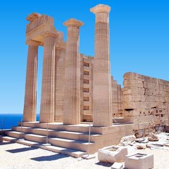 Tempel op Rhodos