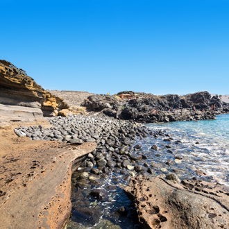 Vulkanische gesteenten op Tenerife